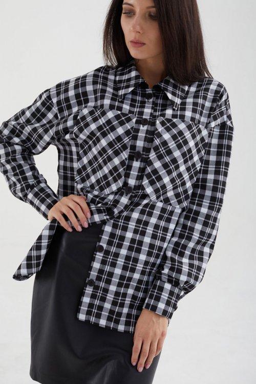 Рубашка МАЛ-621-075 от DressyShop