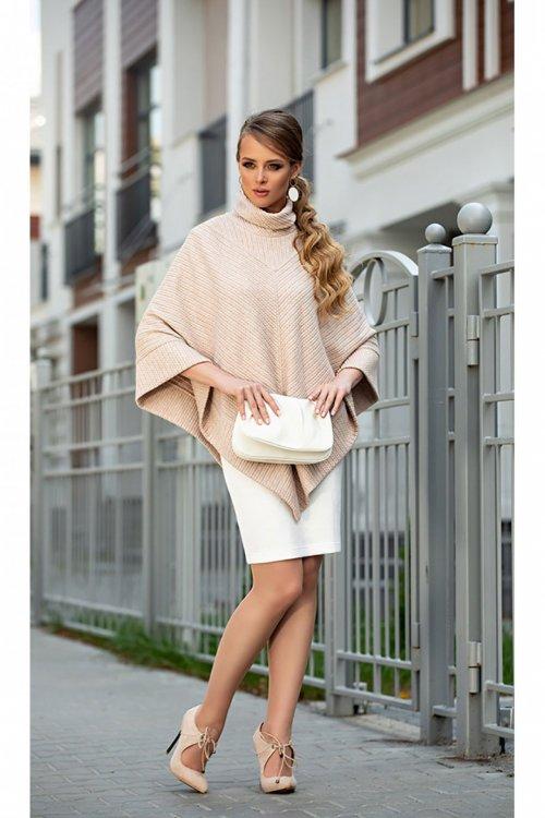 Платье с пончо ДИВА-1328 от DressyShop