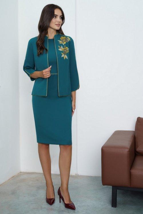 Платье с жакетом Ю-21-639 от DressyShop