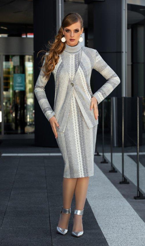Платье с кардиганом ДИВА-1335 от DressyShop