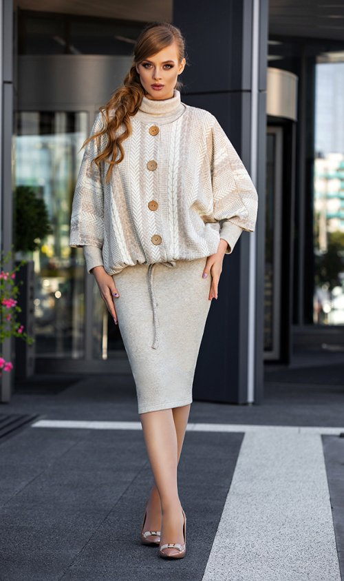 Платье с жакетом ДИВА-1337 от DressyShop