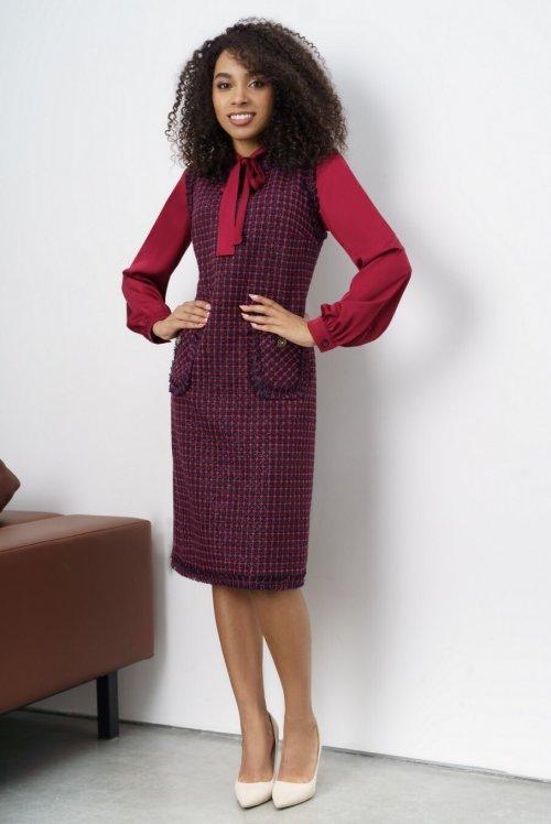 Платье с блузой Ю-21-412 от DressyShop